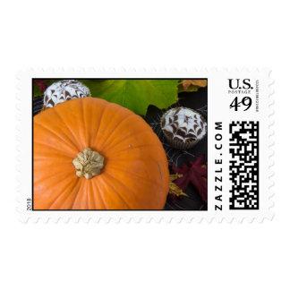 Halloween postage stamps Pumpkin cake