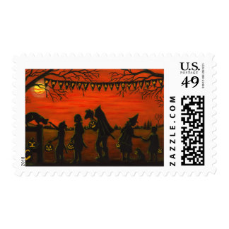 Halloween,postage ,stamps,trick-or-treat,costumes stamp