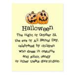 Halloween Postal