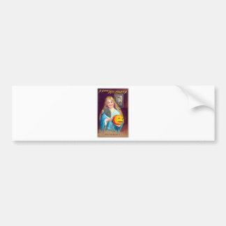 Halloween Postcard - Ellen Clapsaddle Bumper Sticker