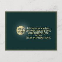 Halloween Postcard Invitation
