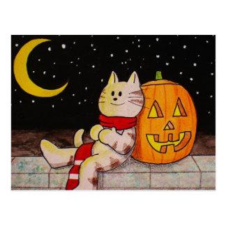 """Halloween Postcard """"Twinkle Twinkle"""""""