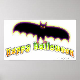 Halloween Posters, Banners - Bats 4 Halloween Poster