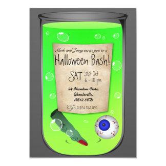 Halloween Potion Custom Party Invitation