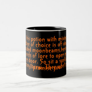 Halloween,potion,spell,mug,original,poem