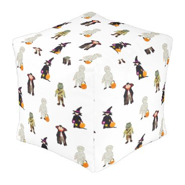 Beach Themed halloween pouf