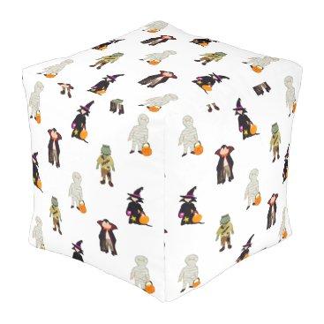 Disney Themed halloween pouf