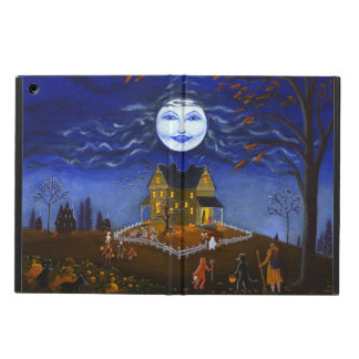 Halloween, powiscase,ipad,witch,ghost,devil,bats iPad air cases