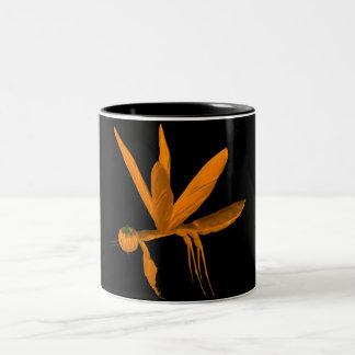 Halloween Praying Mantis Two-Tone Coffee Mug