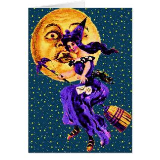 Halloween Pretty witch Card