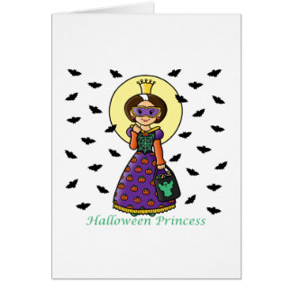 Halloween Princess Card