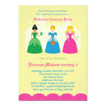 Halloween Princess Costume Party Invitation