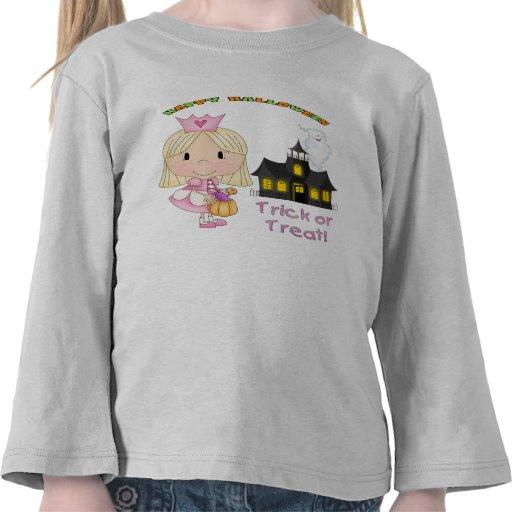 Halloween Princess Toddler Long Sleeve Tee