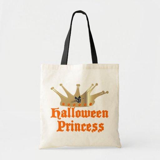 Halloween Princess Tote Bags