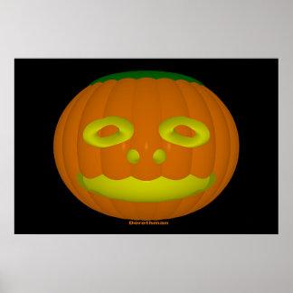 Halloween (print) poster