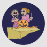 Halloween Products Classic Round Sticker
