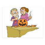 Halloween Products Postcard