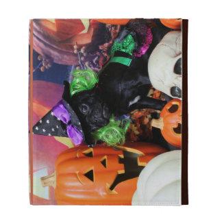 Halloween - Pug - Daisy Mae iPad Folio Cases