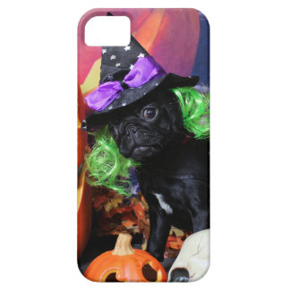 Halloween - Pug - Daisy Mae iPhone SE/5/5s Case