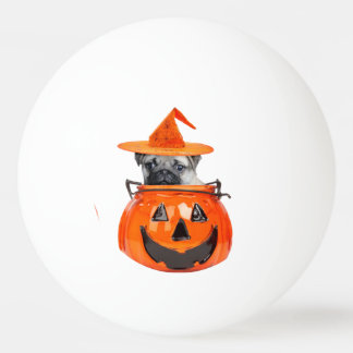 halloween pug dog ping pong ball - Halloween Ping Pong Balls