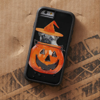 Halloween pug dog tough xtreme iPhone 6 case