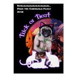Halloween - Pug - Lily Lou Cards