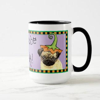 Halloween Pug Mug