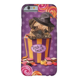 Halloween Pug Puppy Barely There iPhone 6 Case