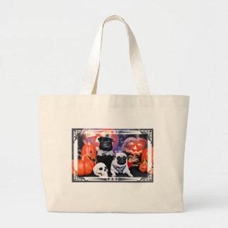 Halloween - Pug - Ruffy and Lola Bag