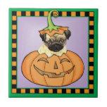 Halloween Pug Tiles