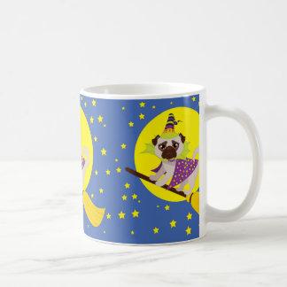 Halloween Pug Witch Coffee Mug