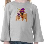 Halloween pugs t-shirt