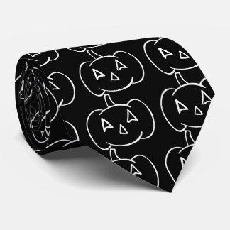 Halloween Pulps Symbol Tie