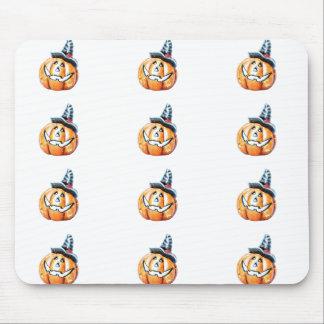 Halloween Pumkin Mouse Pad