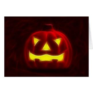 Halloween Pumpkin 1 Card