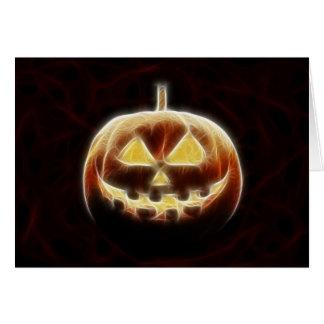 Halloween Pumpkin 2 Card