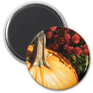 Halloween Pumpkin 2 Inch Round Magnet