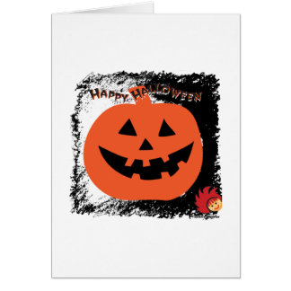 Halloween Pumpkin 6 Stationery Note Card