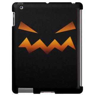 Halloween pumpkin angry face