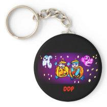 Halloween pumpkin babies keychain