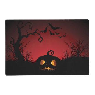 Halloween Pumpkin Background Placemat