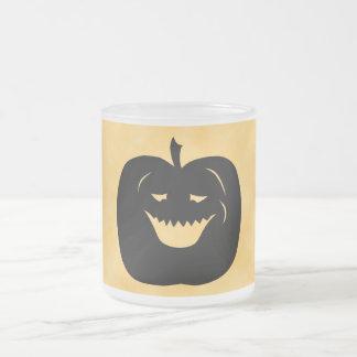 Halloween Pumpkin, Black and Orange. Mugs