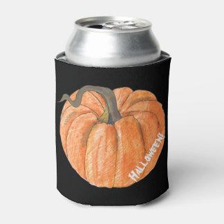 Halloween Pumpkin Bottle Cooler
