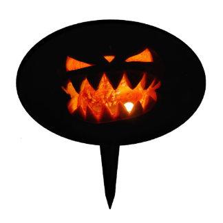 Halloween Pumpkin Cake Topper