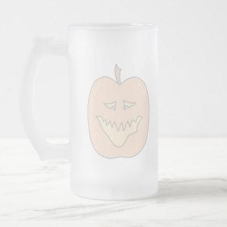 Halloween Pumpkin Cartoon. Pale Colors Mugs