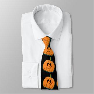Halloween pumpkin cartoon tie
