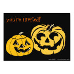 Halloween Pumpkin Carving Party Invitation