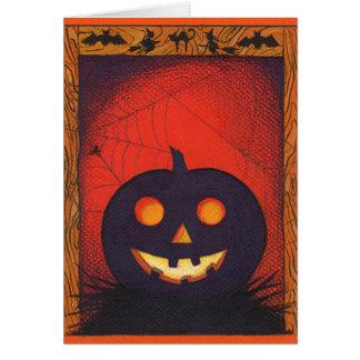 Halloween Pumpkin Collage Card