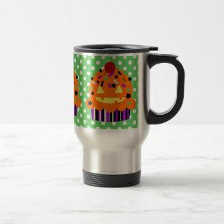 Halloween Pumpkin Cupcake Mug