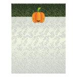 Halloween Pumpkin Customized Letterhead